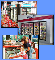 Food Market Refrigeration: Coolers, Display Cases and Merchandisers